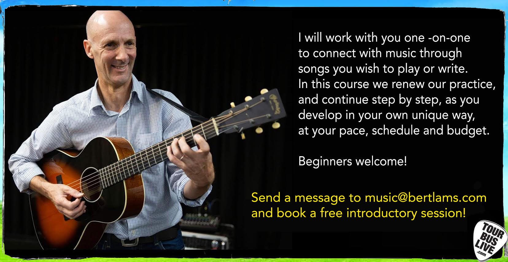 Guitar Lessons with Bert Lams